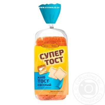 Kyyivkhlib Super Toast Bread Light Sliced 350g