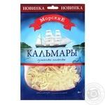Кальмары Морские сушеные соленые 60г - купить, цены на Метро - фото 1