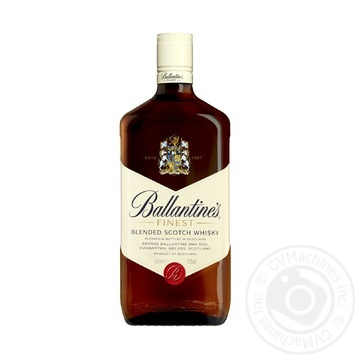 Ballantine's Finest Blended Scotch Wiskey 1l