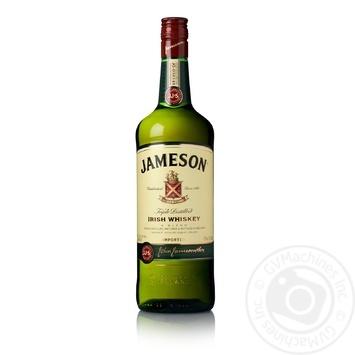Jameson Triple Distilled Irish Whiskey 1l