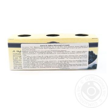 Джем St. Dalfour Міні асорті з 3 смаків 3шт*28г - купити, ціни на CітіМаркет - фото 2