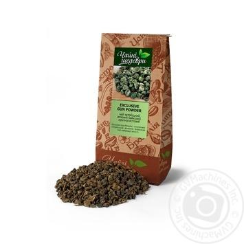 Чай зеленый Чайные шедевры Exclusive gun powder крупнолистовой