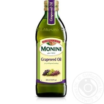 Масло Monini из виноградных косточек 500мл - купить, цены на Восторг - фото 1