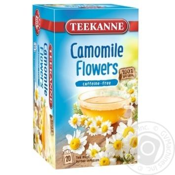 Чай травяной Teekanne Цветы ромашки 20шт 1.5г - купить, цены на Novus - фото 1