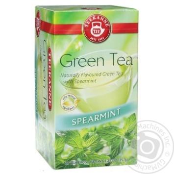 Чай зеленый Teekanne с кучерявой мятой 20шт 1.75г - купить, цены на Novus - фото 1
