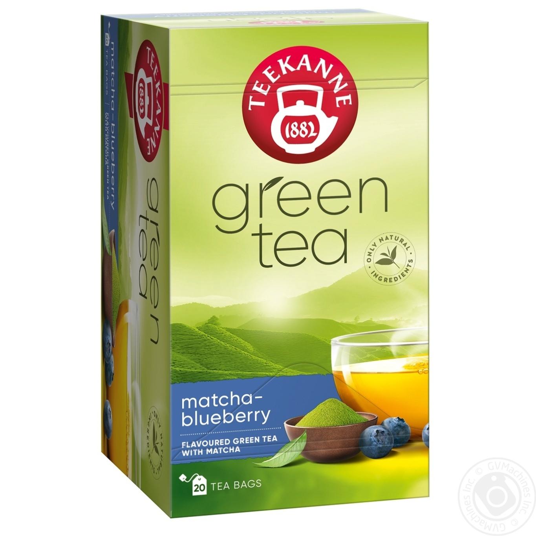 Чай зеленый Teekanne Matcha-Blueberry 20шт 1,75г