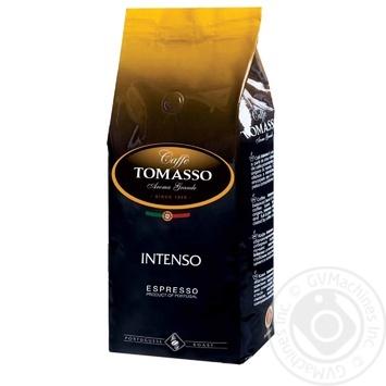 Кофе в зернах Caffe' Tomasso Intenso 1кг - купить, цены на Novus - фото 1