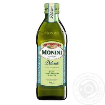 Масло оливковое Monini Extra Virgin Delicato 500мл - купить, цены на Восторг - фото 1