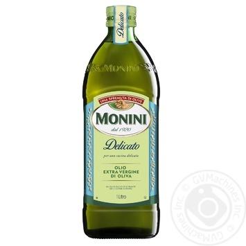 Олія оливкова Monini Extra Virgin Delicato 1л - купити, ціни на Novus - фото 1