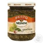 Monini Pesto sauce with basil and garlic 190g - buy, prices for Novus - image 1
