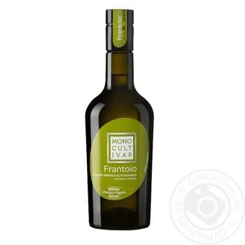 Масло оливковое Monini Extra Vergine Monocultivar Frantoio Bio 500мл - купить, цены на Novus - фото 1