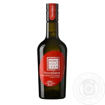 Масло оливковое Monini Extra Virgin Monocultivar Nocellara Bio 500мл - купить, цены на Novus - фото 1