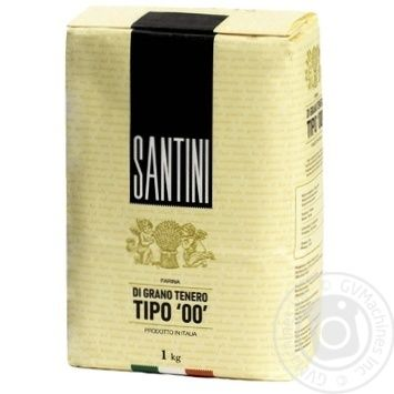 Santini Tipo 00 From Soft Wheat Flour 1kg - buy, prices for CityMarket - photo 1