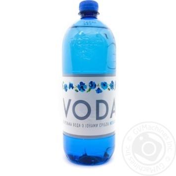 Вода мінеральна негазована VodaUA 1,0л пет