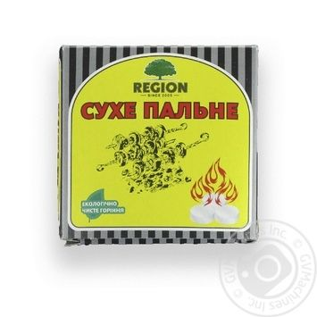 Пальне сухе Регіон Fenix 9 таб. х6 - купити, ціни на МегаМаркет - фото 4