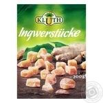 Dried fruits ginger Kluth pieces 200g