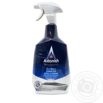 Means Astonish for cleaning and polish of wares from stainless steel 750ml - buy, prices for Novus - image 1