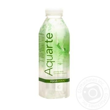 Aquarte Focus Functional water with ginseng extract and apple taste 500ml