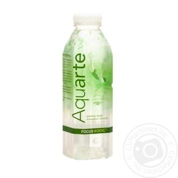 Вода Aquarte Фокус с экстрактом женьшеня и вкусом яблока 500мл