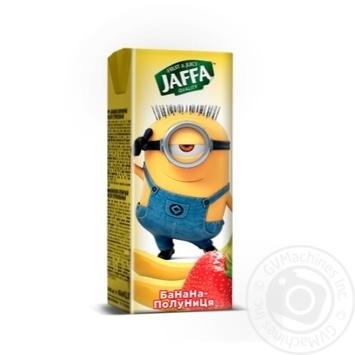 Нектар Jaffa Minions бананово-клубничный 200мл - купить, цены на Фуршет - фото 1