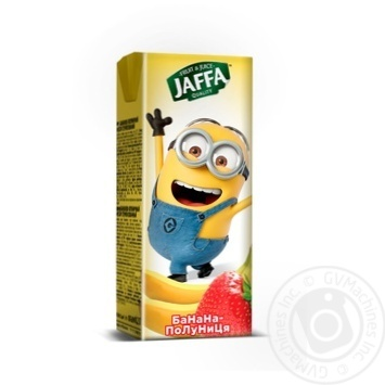 Нектар Jaffa Minions бананово-клубничный 200мл - купить, цены на Фуршет - фото 3