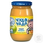 Chudo-Chado apple puree for babies 3 months and older 170ml