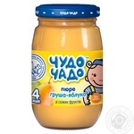 Chudo-Chado apple-pear puree for babies 3 months and older 170ml