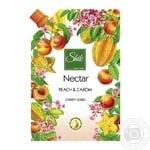 Крем-мыло Шик Nectar жидкое персик и карамболь 460г