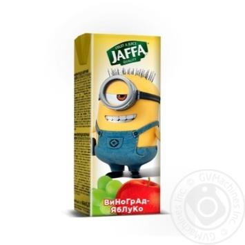 Нектар Jaffa kinder Spongebob виноградно-яблочний 200мл
