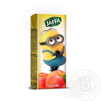 Нектар Jaffa kinder Spongebob персиковый с мякотью 200мл пэт Украина