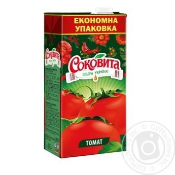 Сок Соковита томатный с мякотью и солью 1,93л