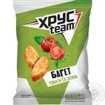 HrusTeam Baget Crackers with tomatoes and greens taste 60g