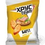HrusTeam Baget Crackers with ham and cheese taste 60g