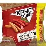 HrusTeam Crisps with hunting sausages taste 110g