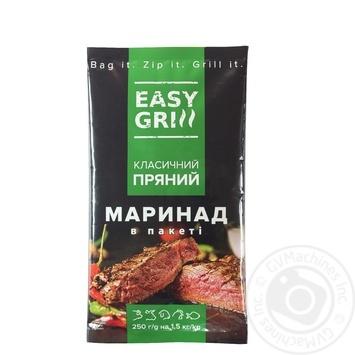 Маринад EASY GRILL Классический пряный 250г - купить, цены на Novus - фото 1