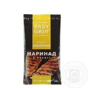 Маринад EASY GRILL Соево-имбирный 250г - купить, цены на Novus - фото 1