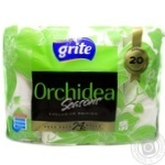 Туалетний папір Grite Orchidea Seasons, 24 рул
