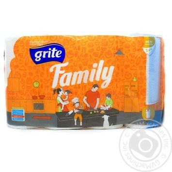 Паперовi рушники Grite Family 4