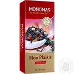 Tea Monomakh tropical fruit black packed 25pcs 30g