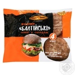 KievHlib Baltic rye dark Buns with malt 240g
