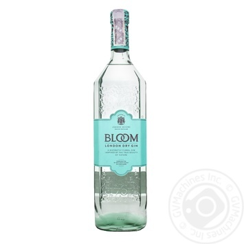 Джин Блум сухое 40% стеклянная бутылка Великобритания