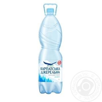 Still natural mineral water Karpatska Dzherelna 2l