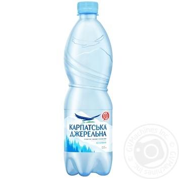 Вода Карпатская Джерельна негазированная 0,5л