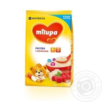 Каша Milupa рис малина 210г - купить, цены на Novus - фото 1