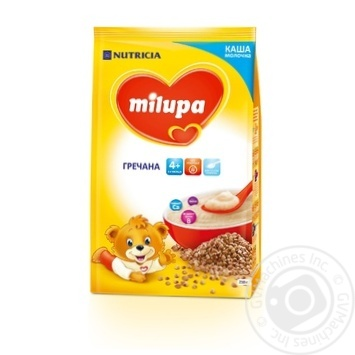 Каша Milupa молочная гречневая 210г - купить, цены на Novus - фото 1