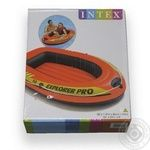 Човен надувний Intex 137X85X23см