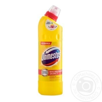 Чистящее и дезинфицирующее средство Domestos Двойная сила  Лимонная свежесть 500мл - купить, цены на Novus - фото 4