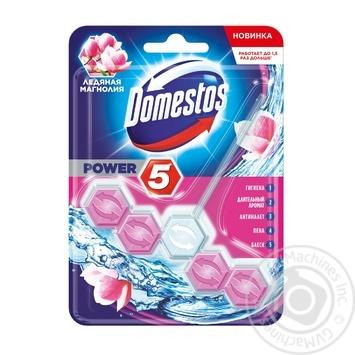 Блок для унитаза Domestos Ледяная магнолия - купить, цены на Ашан - фото 5