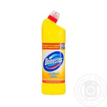 Чистящее средство Domestos Лимонная свежесть универсальное 1л - купить, цены на Novus - фото 4