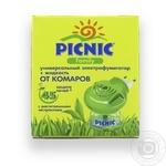 Електрофумігатор+рідина від комарів Picnic Family 45 ночей 30мл